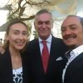 HARPER DUO Y EL EMBAJADOR DE CHILE EN PERU